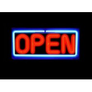Neon Glow Series Open Signs