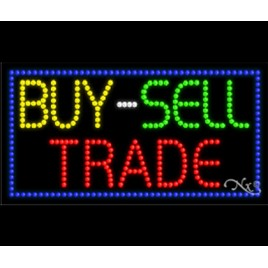 Buy Sell Trade LED Sign