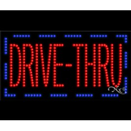 Drive-Thru Led Sign