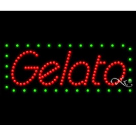 Gelato Led Sign