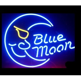 Blue Moon Bar Sign