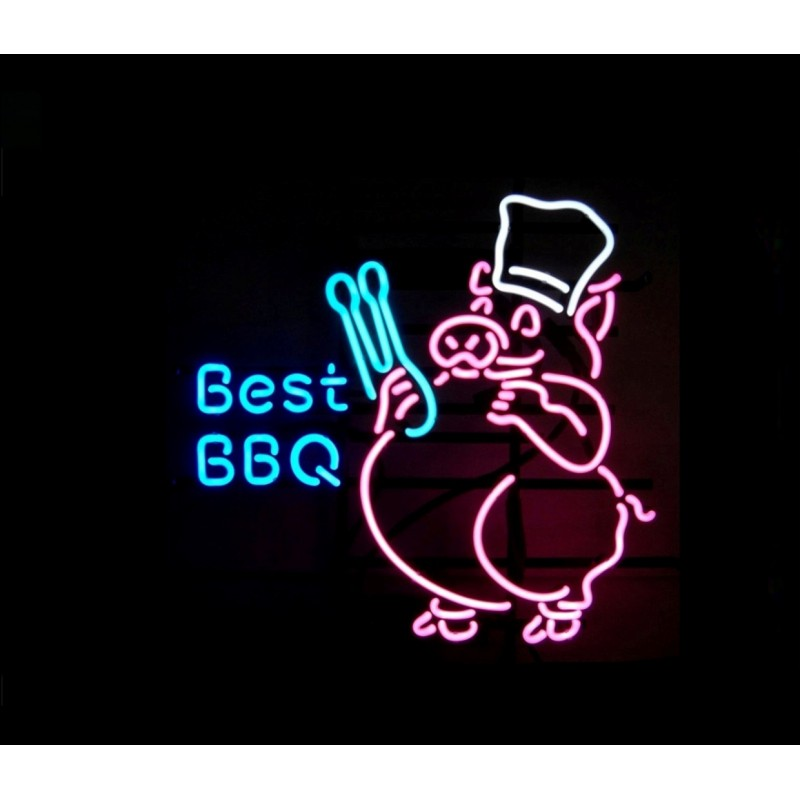 Best BBQ Neon Bar Sign