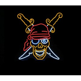 Pirate Neon Bar Sign