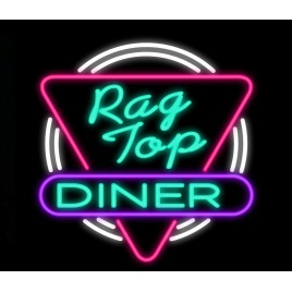 Rag Top Diner Neon Bar Sign