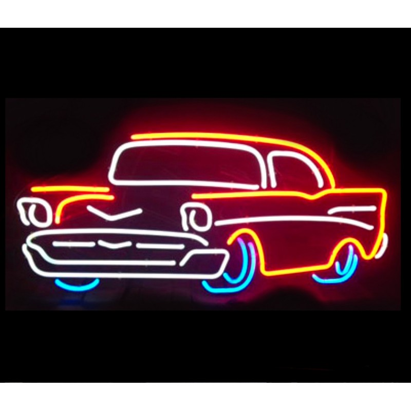 57 Chevy Neon Bar Sign