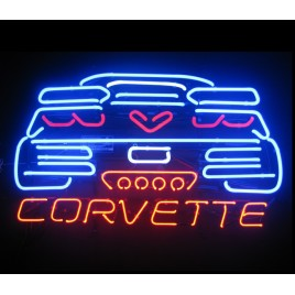 C7 Corvette Neon Bar Sign