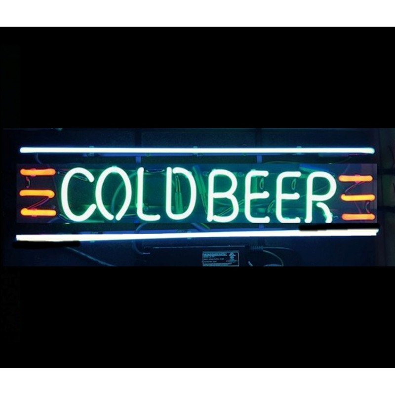 Cold Beer Neon Bar Sign