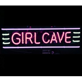 Girl Cave Neon Bar Sign