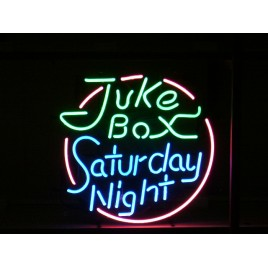 Juke Box Saturday Night Neon Bar Sign