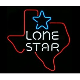 Lone Star Neon Bar Sign