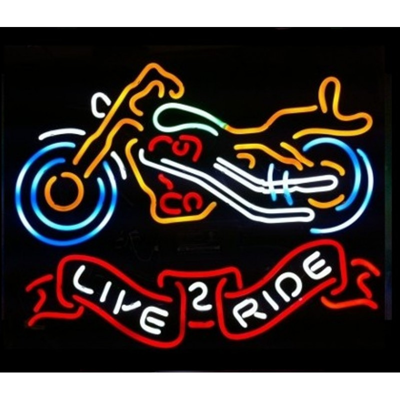 Motorcycle Neon Bar Sign
