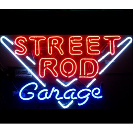 Street Rod Garage Neon Bar Sign