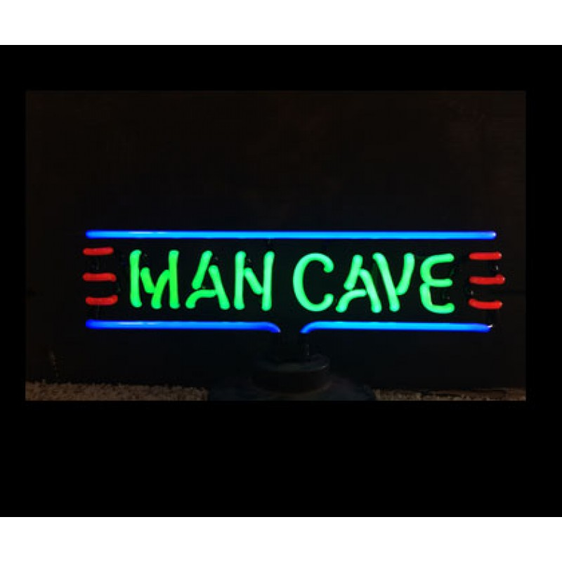 Man Cave II Neon Sculpture