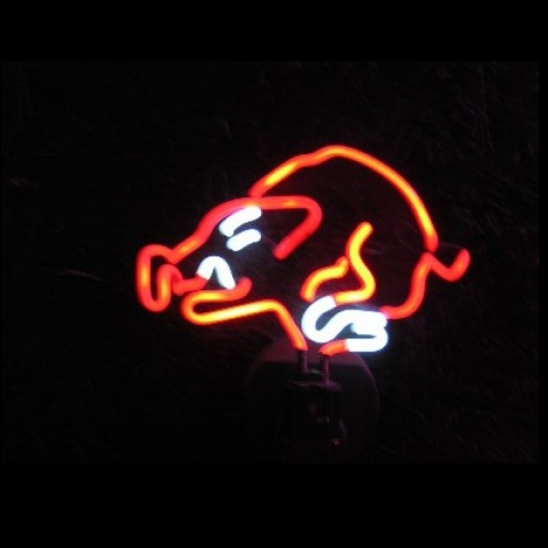 Wild Boar Neon Sculpture